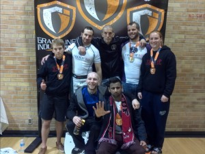 Team Picture From Grappling Industries 10/26/13