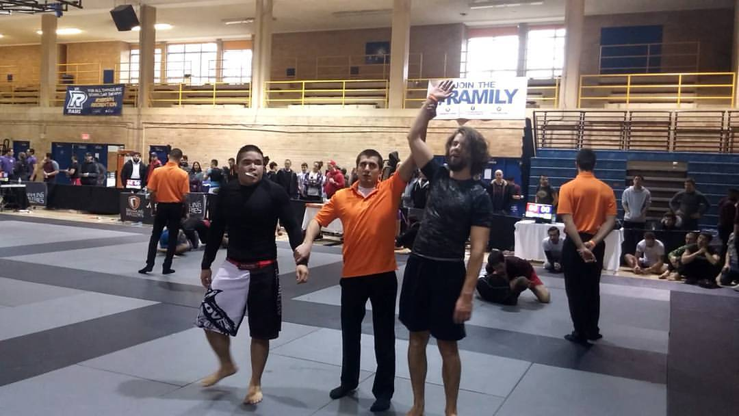 Results from Grappling Industries: EBI Qualifier Toronto